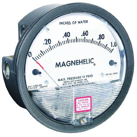 Series 2002d Magnehelic Differential Pressure Gages dwyer magnehelic series 2000 differential pressure range 0