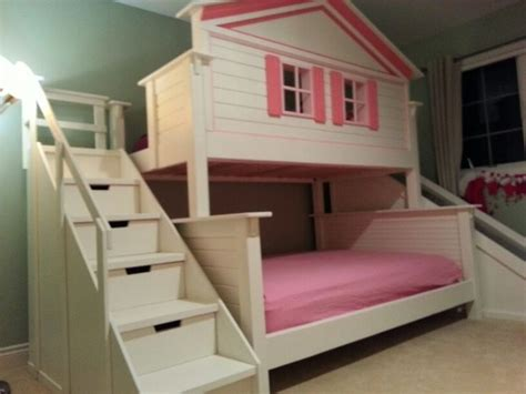 doll house loft bunk bed 1000 ideas about playhouse bed on pinterest castle bed