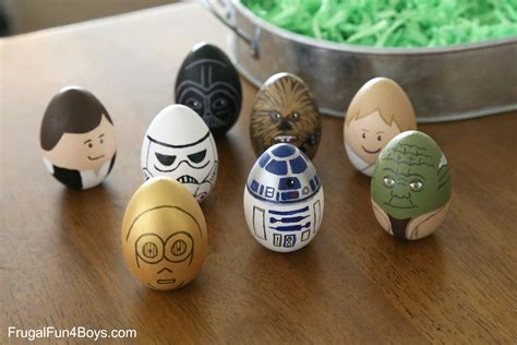 darth vader easter eggs how to make wars painted easter eggs