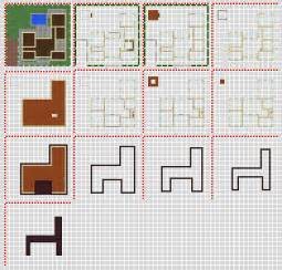minecraft house plans minecraft modern house blueprints layer by layer