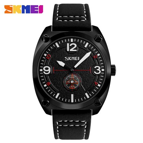 Jam Tangan Skone Pria Cowok Casual Kasual Sport Grosir Murah Terbaru skmei jam tangan analog pria 9155 black jakartanotebook