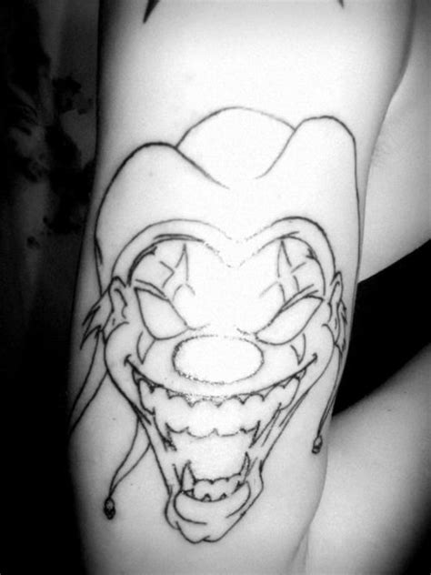 clown tattoo designs clown tattoos