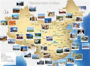 china tourist map inspiring for trip planning