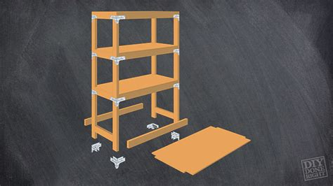 How To Make Picnic Bench by Heavy Duty Shelving Unit Diy Done Right