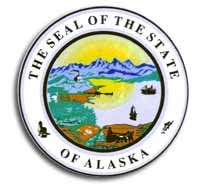 buy alaska  state seal flagline