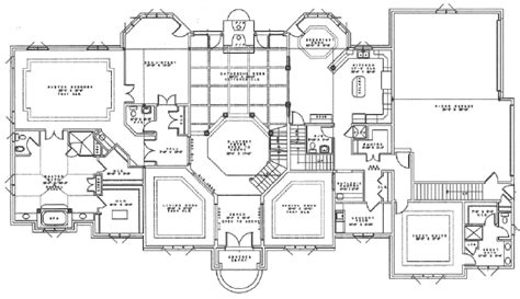 Manor Floor Plan by Avery Development Company First Floor