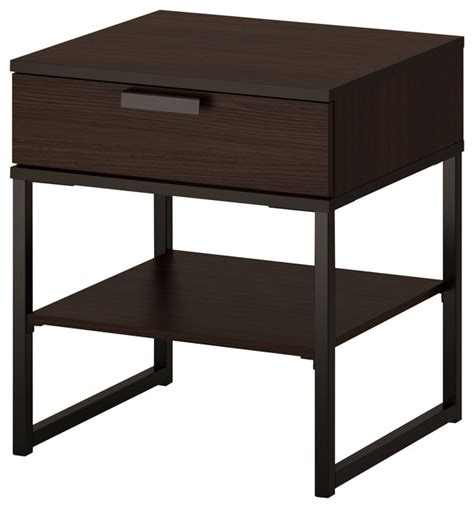 Modern Bedside Tables Nightstands by Trysil Modern Nightstands And Bedside Tables By Ikea