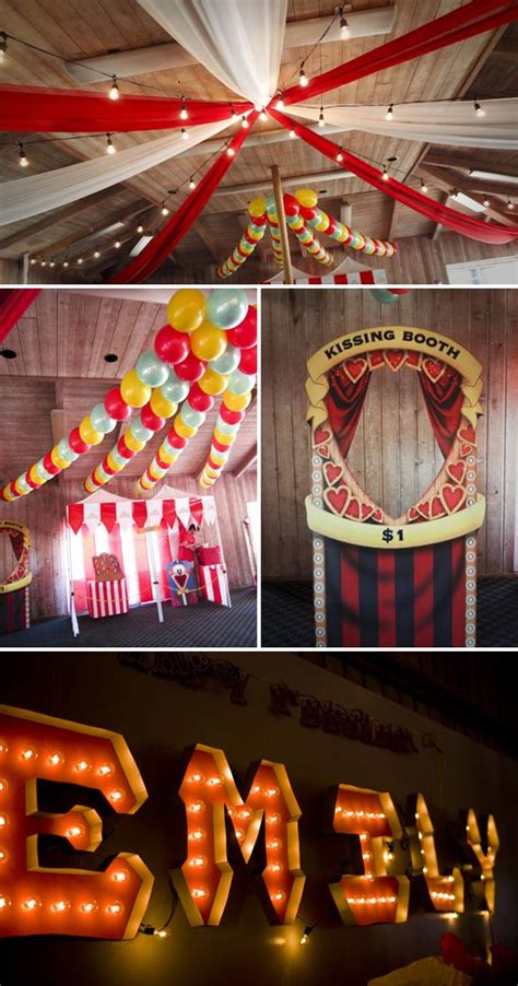 carnival c themes 590 best parties under the big top circus carnival