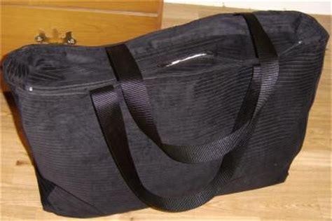 sew  tote bag   recessed zipper materials cutting