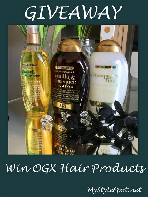 Hair Giveaway - giveaway win ogx hair products ogxbeauty mystylespot