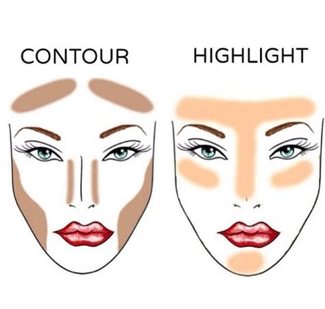 Highlight And Contour makeup contour highlight bronzer shared by johanna linnea