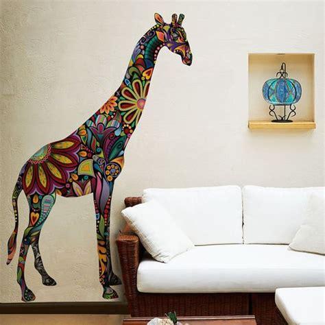 giraffe bedroom giraffe wall sticker decal as giraffe wall mural by