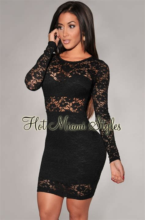 Manica Grande Dress White black lace sleeves dress
