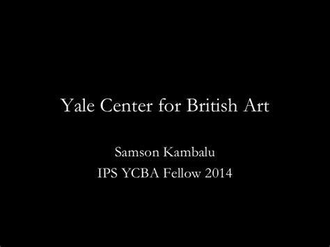 Mba Conversion Yale by Presentation By Yale Center For 2014 Fellow