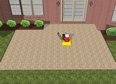 how to make a paver patio how to install a paver patio step by step