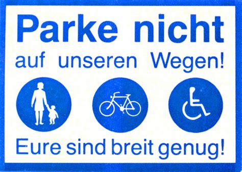 Aufkleber Laden Berlin by Parke Nicht Auf Unseren Wegen Der Aufkleber Bland