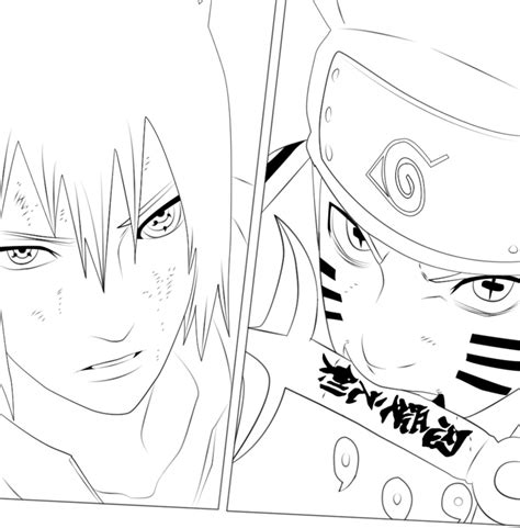 naruto and sasuke lineart by kryptonstudio on deviantart naruto 673 naruto and sasuke lineart by x7rust on deviantart