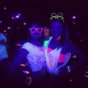 rave glow in the dark grad party pinterest
