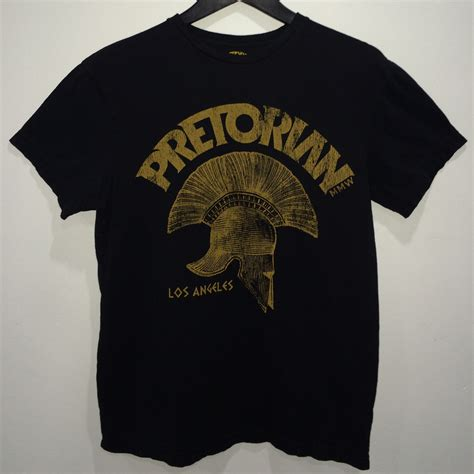 Tshirt Pretorian Ufc Dealldo Merch pretorian t shirt black