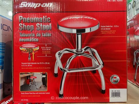 Snapon Stool by Snap On Pneumatic Shop Stool