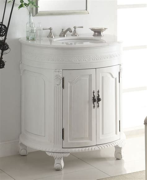 large bathroom vanity single sink adelina 32 inch antique white single sink bathroom vanity