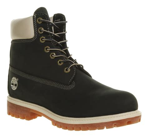 navy mens boots timberland 6 in buck boot navy nubuck in blue for