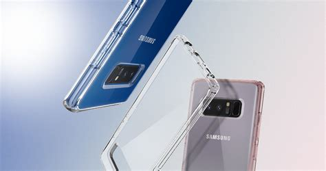 Harga Asli Samsung Galaxy Note 8 jual spigen ultra hybrid clear casing for samsung