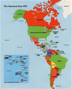 usa and south america map map of usa and south america