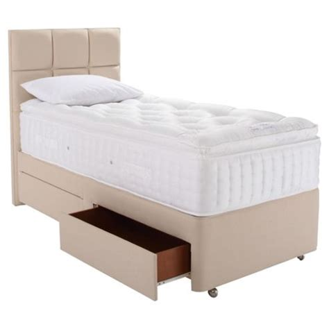 Single Divan Bed With Drawers by Buy Relyon Luxury 2200 2 Drawer Divan Bed Single From Our
