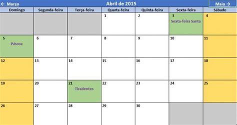 Calendario Por Semanas 2015 Excel Calend 225 E Agendador De Tarefas E Contas 2015 No Excel