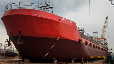 Jual Nes V Batam kapal ship vessel spob tanker tugboat barge tongkang pt