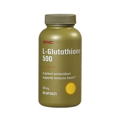 Gnc Kidney Detox by Gnc L Glutathione 500 Reviews