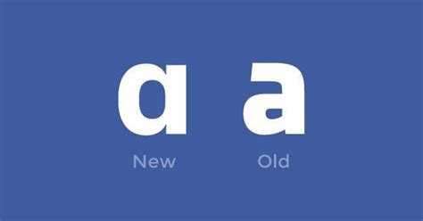 design font for facebook what font does facebook use in their logo