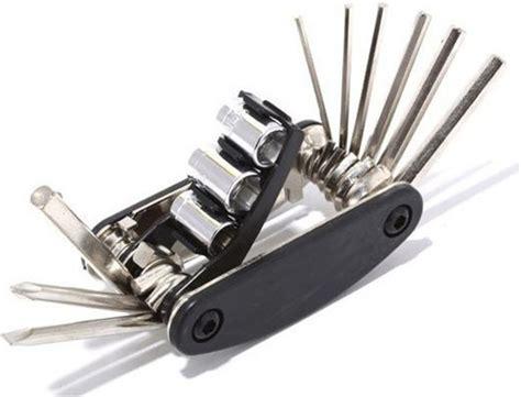 multifunctional 15 in 1 edc repair tool black