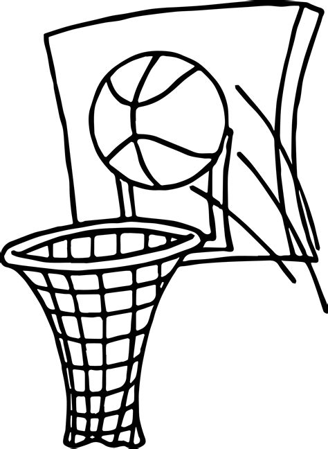 coloring pages basketball basketball coloring page wecoloringpage