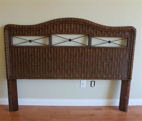 rattan headboard queen wicker headboard for queen bed parksville parksville