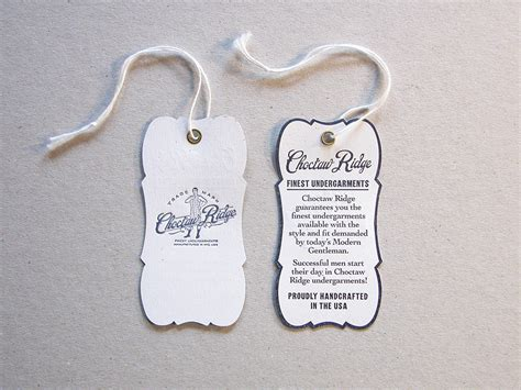 clothing hang tag template image gallery hang tags