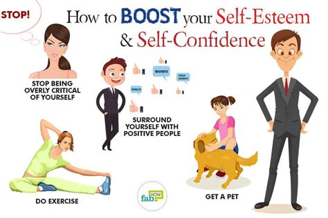how to self your how to boost your self esteem and self confidence 40 killer tips fab how