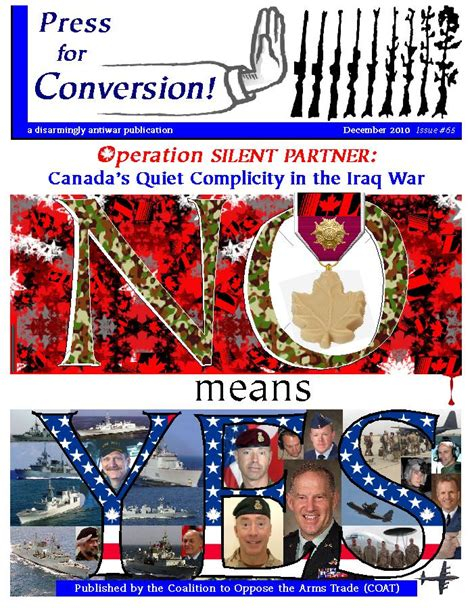 Operation Silent canada s complicity in the iraq war