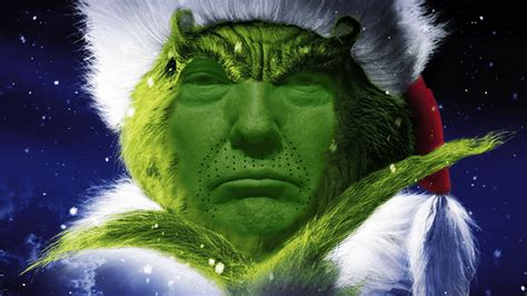 donald trump grinch donald trump did not bring back merry christmas fusion