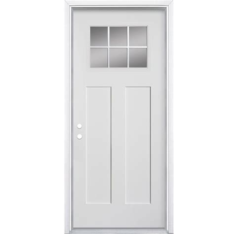 Masonite 34x49 16 Craftsman 6 Lite Fibreglass Smooth Masonite Interior Doors Canada