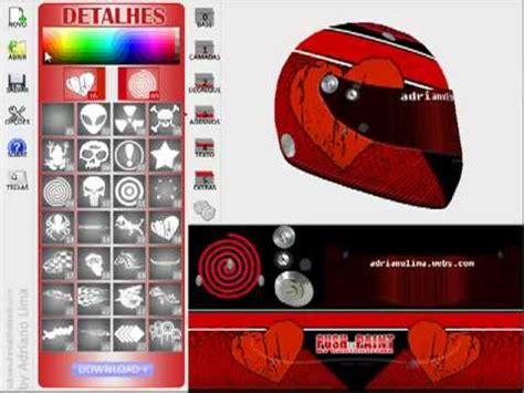 helm design program push to paint helmets v1 0 youtube