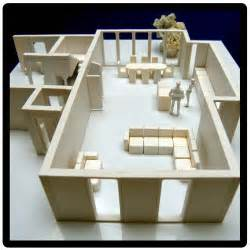 Build A 3d House 3d Architects Model Kit To Create A Scale Model House Interior