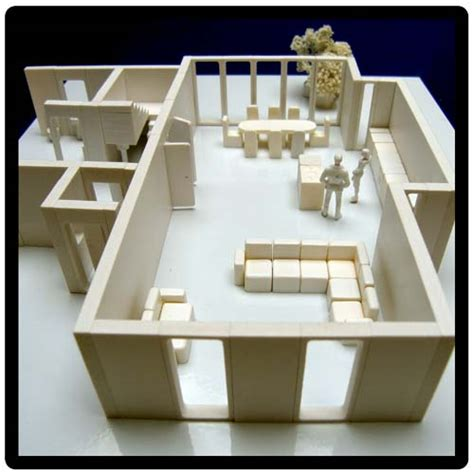 house models to build 3d architects model kit to create a scale model house interior