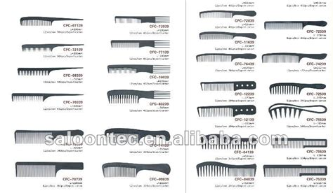 Hair Style Tools Name by Comare Wide Tooth Carbon Cutting Comb Buy Comare Wide