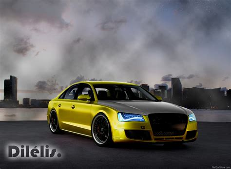 Audi A8 Getunt by Audi A8 Tuning By Dilelis On Deviantart