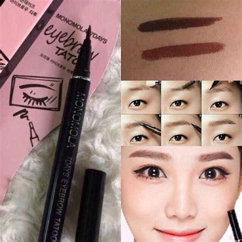 how long do eyebrow tattoos last waterproof brown 7 days eye brow eyebrow pen liner