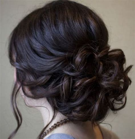 soft curly prom updo hairstyle danielas wedding beautiful low prom updo hairstyle with loose soft curls