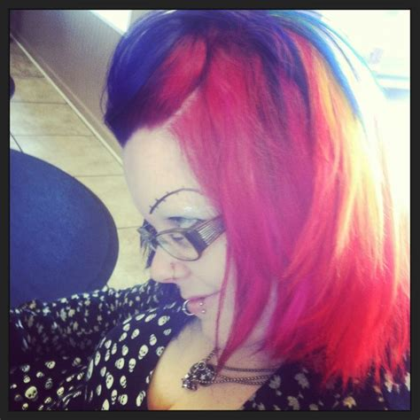 hair by tasha parker 1617 best images about rainbow hair on pinterest mohawks