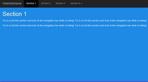 membuat web menggunakan bootstrap cara membuat scrollspy dengan menggunakan bootstrap